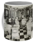 The Verandah Cafe Of The Titanic Coffee Mug by Photo Researchers