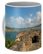 The View From Fort Rodney On Pigeon Island Gros Islet Caribbean Coffee Mug