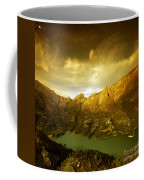 the view from Guadalest Coffee Mug
