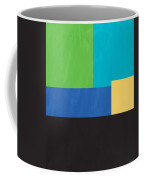 The View From Here- Modern Abstract Coffee Mug