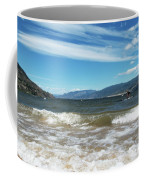 The View From Okanagan Beach Coffee Mug