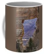 The  View Through The Angels'  Window Coffee Mug