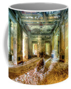 The Villa Of The Boat In The Antique Salon - La Villa Della Barca Nell'antico Salone Coffee Mug by Enrico Pelos
