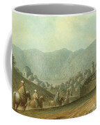 The Village Of Betania With A View Of The Dead Sea Coffee Mug