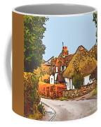 The Village Of Chilbolton Coffee Mug