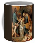 The Virgin Adorned With Flowers Coffee Mug