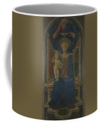 The Virgin And Child Enthroned Coffee Mug