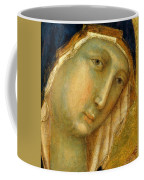 The Virgin And Child On A Throne Fragment 1311 Coffee Mug