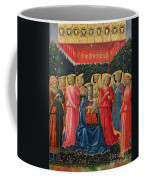 The Virgin And Child With Angels Coffee Mug