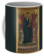The Virgin And Child With Four Angels Coffee Mug
