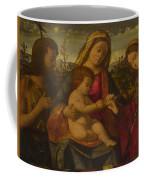 The Virgin And Child With Saints Coffee Mug