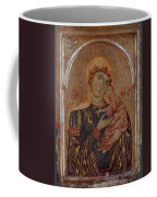 The Virgin And Child With Two Angels Coffee Mug