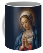 The Virgin At Prayer Coffee Mug by Il Sassoferrato