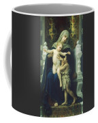 The Virgin Baby Jesus And Saint John The Baptist Coffee Mug