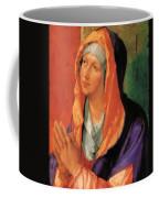 The Virgin Mary In Prayer Coffee Mug