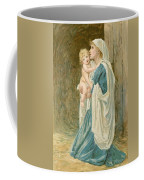 The Virgin Mary With Jesus Coffee Mug
