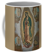 The Virgin Of Guadalupe With The Four Apparitions Coffee Mug