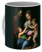 The Virgin Of The Rose Coffee Mug
