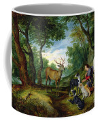 The Vision Of Saint Hubert Coffee Mug