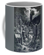 The Vision Of The Valley Of Dry Bones 1866 Coffee Mug