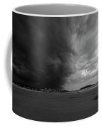 The Wall Of The Storm Good Harbor Beach Gloucester Ma Black And White Coffee Mug