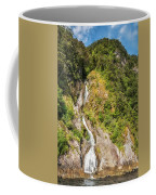 'the Water Of Life' Spring At Doubtful Sound Coffee Mug