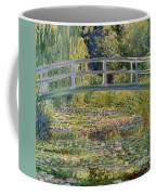 The Waterlily Pond With The Japanese Bridge Coffee Mug by Claude Monet