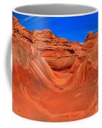 The Wave Panorama - X Coffee Mug