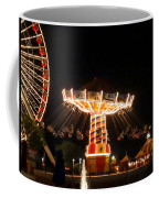 The Wave Swinger Ride Navy Pier Chicago Coffee Mug