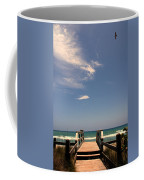 The Way Out To The Beach Coffee Mug