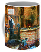 The Way We Were - The Blacksmith - Paint Coffee Mug