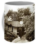 The Wedding Chapel Carmel  Highlands Inn Circa 1968 Coffee Mug