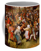 The Wedding Dance Coffee Mug by Pieter the Elder Bruegel
