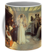 The Wedding Morning Coffee Mug by John Henry Frederick Bacon