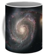 The Whirlpool Galaxy M51 And Companion Coffee Mug