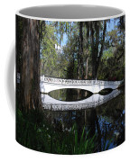 The White Bridge In Magnolia Gardens Charleston Coffee Mug