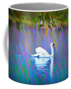 The White Swan Coffee Mug by Bill Cannon