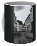 The White Village - Digital Coffee Mug