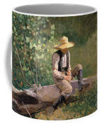 The Whittling Boy Coffee Mug