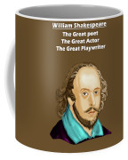 The William Shakespeare Coffee Mug