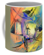 The Windmills Del Quixote 02 Coffee Mug