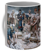 The Wine Mixed With Myrrh Coffee Mug