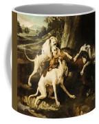 The Wolf Hunt Coffee Mug