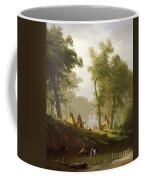 The Wolf River - Kansas Coffee Mug by Albert Bierstadt