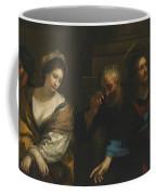 The Woman Taken In Adultery Coffee Mug