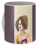 The Woman With Purple Hair Coffee Mug
