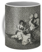 The Women Give Courage From The Series The Disasters Of War Coffee Mug