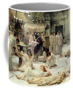 The Women Of Amphissa Coffee Mug by Sir Lawrence Alma-Tadema