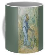 The Woodcutter After Millet Saint Remy De Provence September 1889 Vincent Van Gogh 1853  1890 Coffee Mug