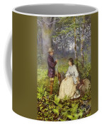 The Woodland Encounter  Coffee Mug